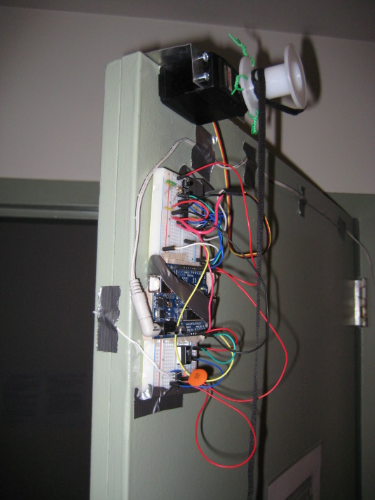 Keyless Entry System Using The Arduino